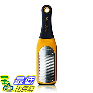 [107美國直購] 刨刀 Microplane Zester Grater Lemon Citrus Cheese - Yellow Artisan Fine 42602