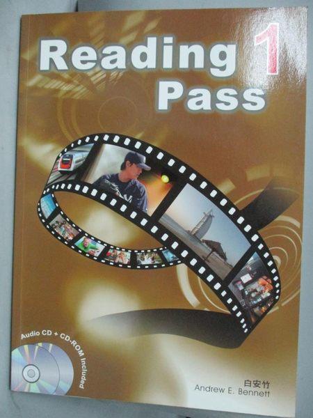 【書寶二手書T4/語言學習_ZIE】Reading Pass1_無CD_英文書_白安竹