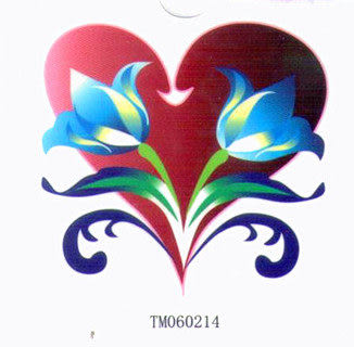 薇嘉雅 愛心 超炫圖案紋身貼紙 TM60214