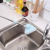 多功能玻璃擦清潔刷長柄可伸縮浴缸瓷磚刷三角刷海綿刷神器家用小確幸生活館