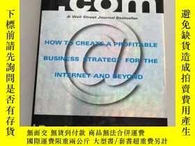 二手書博民逛書店英文原版罕見Customers.com: How to Create a Profitable Business