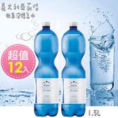 【義大利進口】亞莉佳  微氣泡礦泉水1500mlx12入(即期品2018年11月6日)