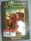 【書寶二手書T4/原文小說_CYG】Unicorns of Balinor_Mary Stanton