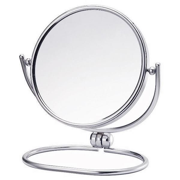 高級鍍鉻雙面摺疊桌鏡M5205