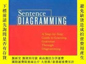 二手書博民逛書店Sentence罕見Diagramming: A Step-by-step Approach To Learnin