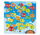 互動發聲 英文字母 親子互動 雙語學習教具 遊戲地墊 兒童玩具地墊【SV7475】快樂生活網