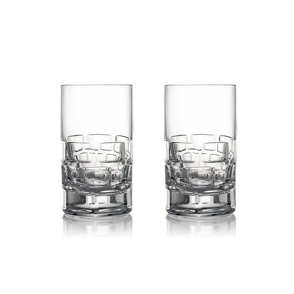 斯洛維尼亞 Rogaska Maison S/2 Vodka 2pcs 紳品邁森系列 手工水晶 伏特加 酒杯 兩件組