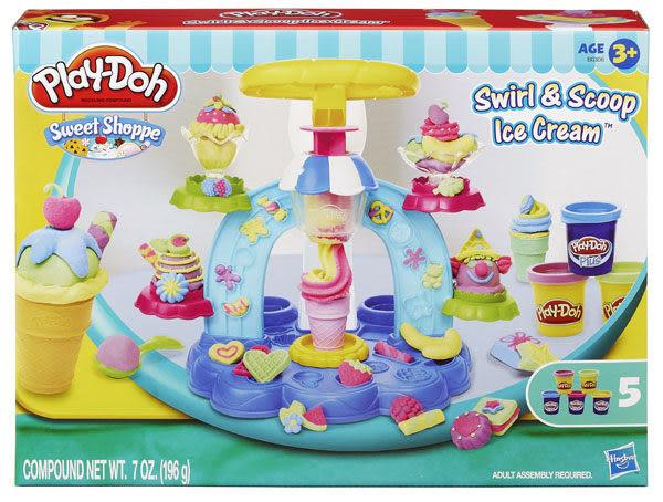 Play-Doh培樂多黏土 聖代冰淇淋遊戲組 TOYeGO 玩具e哥