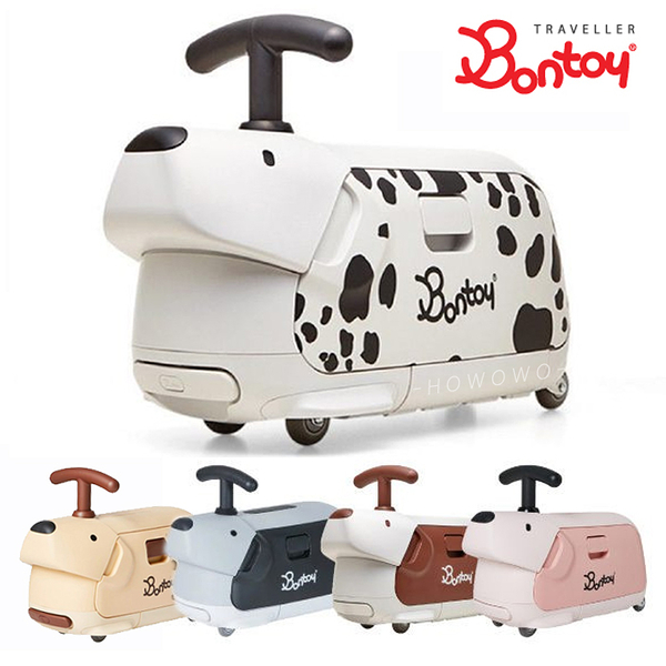 【輸碼現折300】 Bontoy Traveller 韓國騎乘行李箱 紅點設計美學 兒童行李箱 7866 好娃娃