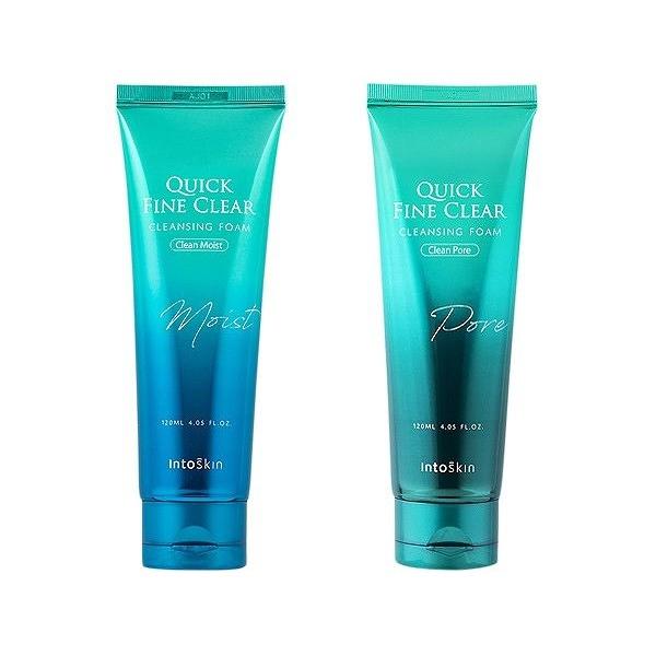 韓國 Intoskin 潔淨防塵洗面乳(120ml) 鎖水保濕/毛孔清潔 款式可選【小三美日】