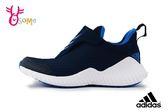 adidas FortaRun AC K 慢跑鞋 男童 透氣 運動鞋 Q9314#藍色◆OSOME奧森童鞋