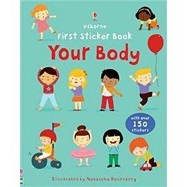 【麥克書店】 YOUR BODY  /認知學習貼紙書
