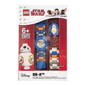 免運費【 樂高積木 LEGO 】兒童手錶 - 星際大戰 BB-8╭★ JOYBUS玩具百貨