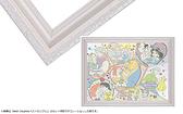 迪士尼白色雕刻框  /26*38cm/Epoch/塑膠框/日本進口