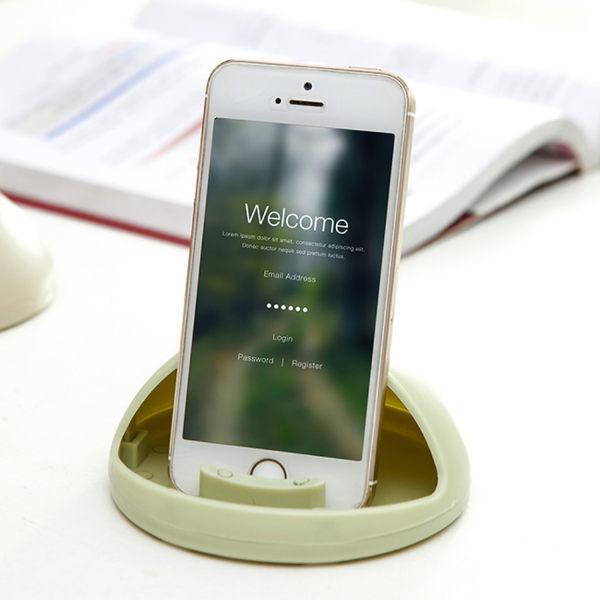 《J 精選》創意半球型手機支架/擴音器