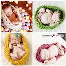 童裝 嬰兒攝影寫真毛線針織睡袋