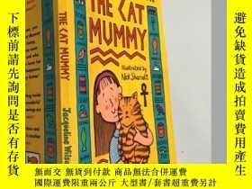 二手書博民逛書店the罕見cat mummy 貓媽媽Y200392