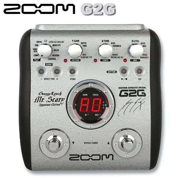 【非凡樂器】ZOOM  G2G 電吉他綜合效果器 George Lynch簽名代言 / 贈變壓器&導線 公司貨保固