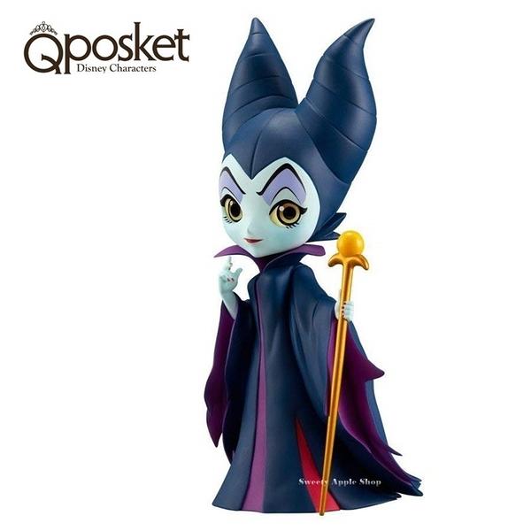 日本限定 迪士尼 反派壞人系列 Qposket 梅菲瑟 黑魔女 模型公仔 (金魔杖)