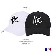 IMPACT MLB NYC 大聯盟 洋基隊 棒球帽 刺繡 環扣 白 黑 男女可戴 可調式 32CPNG811-50W 32CPNG841-50L