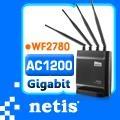netis WF2780 AC1200無線分享器  四支獨立天線 支援MOD功能
