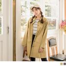 質感的排釦設計,增添細節品味 長寬版的剪材搭配高含棉的面料,打造率性舒適穿著