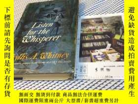 二手書博民逛書店英文原版罕見listen for the whispererY1