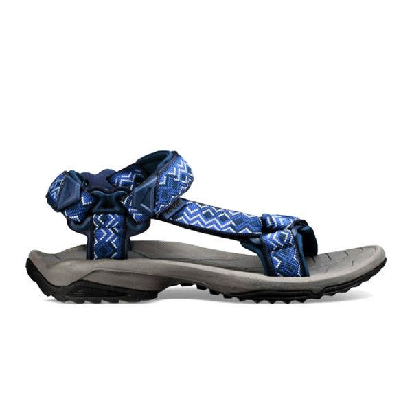 TEVA 男運動涼鞋 TERRA FI LITE (灰藍) 綁帶涼鞋 耐磨抗菌 TV1001473KNY 【胖媛的店】