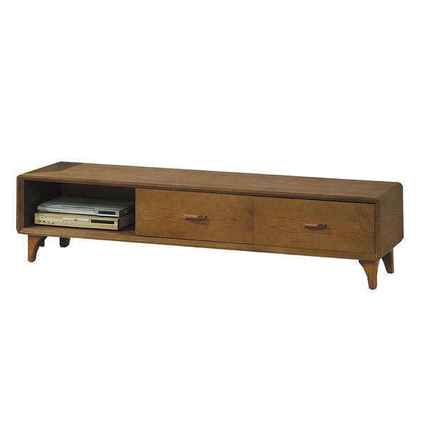 【采桔家居】亞瑟 時尚6尺木紋電視櫃/視聽櫃