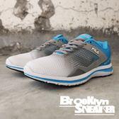 FILA 白灰藍 復古 休閒鞋 慢跑鞋 女 (布魯克林) 5J927P341
