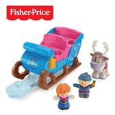 【奇哥】Fisher-Price 費雪 冰雪奇緣雪橇組