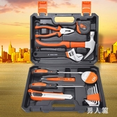 家用工具套裝五金工具套裝箱套裝手動多功能維修電工木工工具箱組 PA7508『男人範』