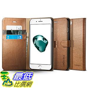 [美國直購] Spigen 043CS20544 棕色 [Wallet S] (5.5吋) iPhone 7 Plus Case 皮夾式 手機殼 保護殼