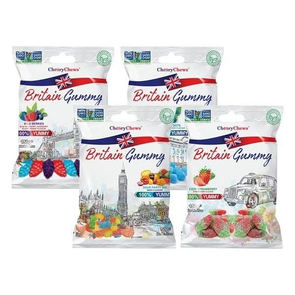 土耳其 Britain Gummy 英國傳統風味軟糖(150g) 款式可選【小三美日】