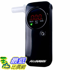 [8美國直購] 美國進口酒測器 AlcoHAWK A1150539 PRO FC Fuel-Cell Breathalyzer, Digital Breath Alcohol Tester