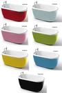 【麗室衛浴】 BATHTUB WORLD  繽紛泡澡趣 YG3301 造型獨立缸目錄及施工說明