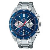 CASIO EDIFICE 跳色運動型計時錶(EFV-590D-2A)-藍x50mm