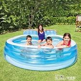 充氣游泳池家用加厚小孩家庭超大泳池戶外大型兒童水池 618狂歡購