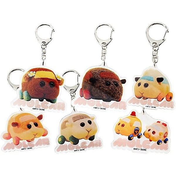 天竺鼠車車 鑰匙扣(1入) 款式可選【小三美日】