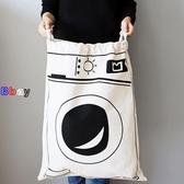 【貝貝】棉布袋 拉繩袋 收納袋 整理袋 束口袋