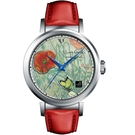 梵谷Van Gogh Swiss Watch梵谷經典名畫女錶 I-SLLB-02 標誌紅花蝴蝶