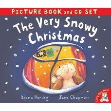 【麥克書店】THE VERY SNOWY CHRISTMAS /英文故事繪本+CD