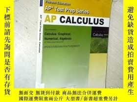 二手書博民逛書店AP罕見Test Prep Series:Calculus AP