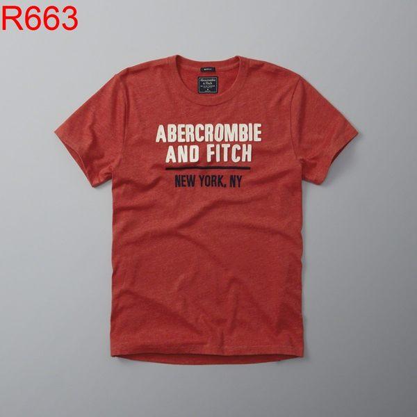 AF Abercrombie & Fitch A&F A & F 男 當季最新現貨 T-SHIRT AF R663