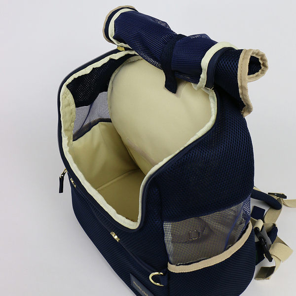 【PET PARADISE 寵物精品】Marie Claire 夏日透氣前背/後背包 (4-8kg) 寵物外出包