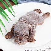 網紅沙皮狗慕斯模具烘培小奶狗巧克力冰淇淋小狗3d立體臟臟狗蛋糕 英雄聯盟