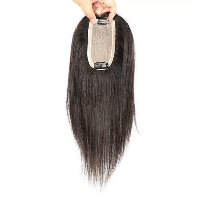 假髮片(真髮絲)-6x12cm內網20cm直髮補髮片女假髮73us22[時尚巴黎]