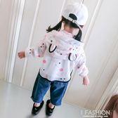 寶寶夏裝女童卡通防曬服可愛1-3-6歲女童薄外套透氣 兒童防曬衣-Ifashion