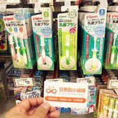 嬰兒牙刷 日本貝親嬰兒牙刷0-1-2-3歲兒童訓練乳牙刷寶寶幼兒硅膠軟毛牙刷  創想數位