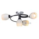 【燈王的店】燈飾燈具 設計師新款 半吸頂燈3+1燈 客廳燈 餐廳燈 房間燈 2151/3+1 DM商品